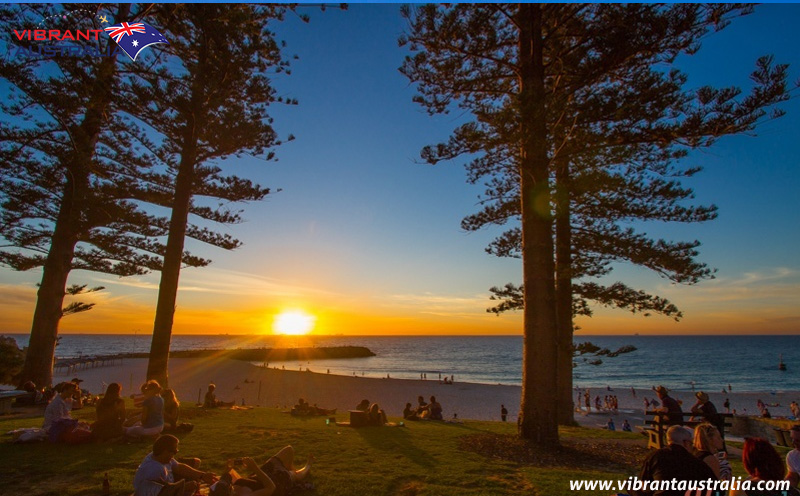 Catch a sunset at Cottesloe